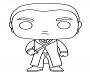 Draco Malfoy Funko Pop dessin à colorier