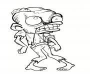 zombi vraiment moche dessin à colorier