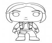 Rey fictional character dessin à colorier
