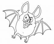Coloriage levres vampire dessin