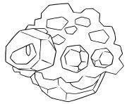 pokemon epee et bouclier charbi dessin à colorier