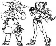 Coloriage pokemon evoli dessin