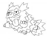 pokemon epee et bouclier formes de galar zigzaton de galar dessin à colorier