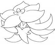 pokemon epee et bouclier tournicoton dessin à colorier