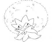 pokemon epee et bouclier blancoton dessin à colorier