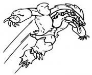 pokemon epee et bouclier ixon dessin à colorier
