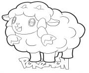 Coloriage Wooloo Pokemon