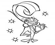 halloween yzma disney dessin à colorier