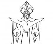 jafar disney halloween dessin à colorier