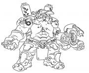 overwatch Torbjorn dessin à colorier