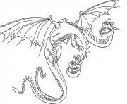 Barf Belch Dragon dessin à colorier