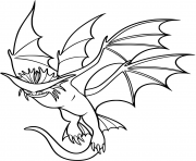 Cloudjumper Dragon dessin à colorier