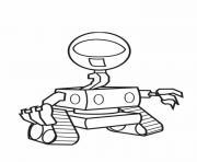 robot Wall E dessin à colorier