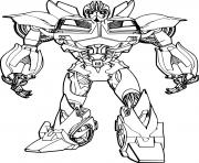 Coloriage transformers bumble bee