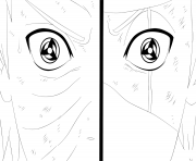 kamui dessin à colorier