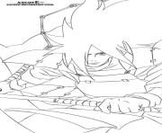 madara dessin à colorier