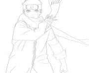 naruto the last dessin à colorier