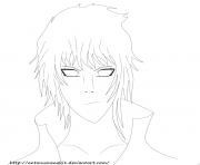 toneri otsutsuki dessin à colorier