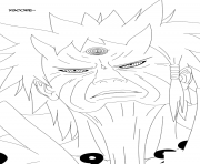 rikudou sennin dessin à colorier