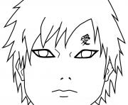 Coloriage gaara of the desert by sugarcoatedlollipops