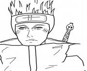 Coloriage naruto the last dessin
