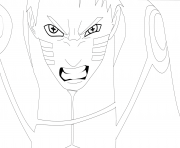Coloriage deidara from naruto dessin