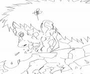adios obito 687 dessin à colorier