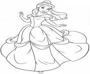 Coloriage Princesse A Imprimer Dessin Sur Coloriage Info