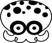 Splatoon Octapus dessin à colorier