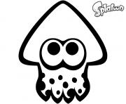 Splatoon Squid dessin à colorier