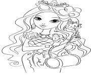 Coloriage fille 8 ans barbie bimbo fashion