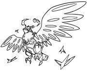 Coloriage pokemon 002 ivysaur dessin