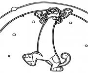coloriage pokemon gigamax miaouss