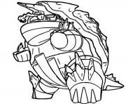 pokemon gigamax torgamord dessin à colorier