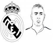 Coloriage champions league 2020 Karim Benzema Real Madrid