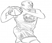 Coloriage draymond green