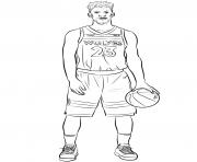 jimmy butler dessin à colorier