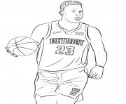 blake griffin dessin à colorier