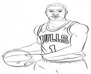 Coloriage atlanta hawks logo nba sport dessin