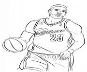Coloriage BASKETBALL à imprimer Dessin sur Coloriage.info