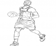 Coloriage paul george
