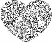 Coloriage dessin saint valentin 172 dessin