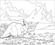 Coloriage dinosaure world