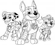 Pat Patrouille New Series dessin à colorier