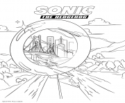 Coloriage Sonic 2020 Warp Ring