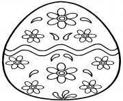 pysanky ukrainian oeuf de paques 3 dessin à colorier