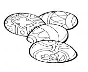 dessin paques 186 dessin à colorier