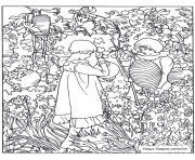 john singer sargent carnation lily lily rose dessin à colorier