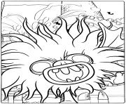 Trolls 2 World Tour Evil Pet Bat Debbie dessin à colorier