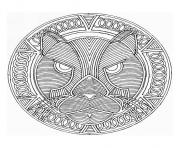 Coloriage coloring free mandala difficult adult to print 9